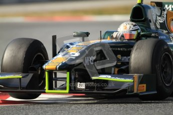 © Octane Photographic Ltd. GP2 Winter testing Barcelona Day 1, Tuesday 6th March 2012. Caterham Racing, Giedo Van der Garde. Digital Ref : 0235cb7d0983