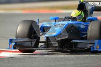 © Octane Photographic Ltd. GP2 Winter testing Barcelona Day 1, Tuesday 6th March 2012. Ocean Racing technology, Nigel Melker. Digital Ref : 0235cb7d1026
