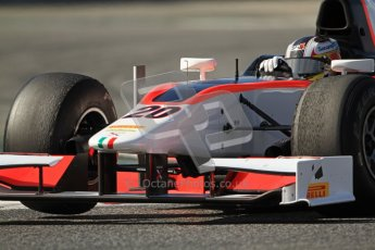 © Octane Photographic Ltd. GP2 Winter testing Barcelona Day 1, Tuesday 6th March 2012. Rapax, Ricardo Teixeira. Digital Ref : 0235cb7d1275
