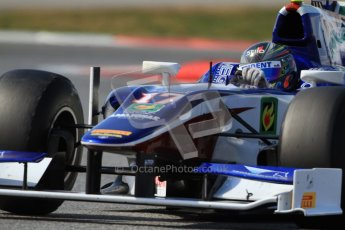 © Octane Photographic Ltd. GP2 Winter testing Barcelona Day 1, Tuesday 6th March 2012. Trident Racing, Julian Leal. Digital Ref : 0235cb7d1433