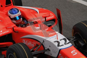 © Octane Photographic Ltd. GP2 Winter testing Barcelona Day 1, Tuesday 6th March 2012. Arden International, Simon Trummer. Digital Ref : 0235lw7d5099