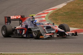 © Octane Photographic Ltd. GP2 Winter testing Barcelona Day 1, Tuesday 6th March 2012. iSport International, Jolyon Palmer. Digital Ref : 0235lw7d5939