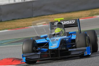 © Octane Photographic Ltd. GP2 Winter testing Barcelona Day 1, Tuesday 6th March 2012. Ocean Racing technology, Nigel Melker. Digital Ref : 0235lw7d6987