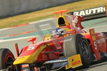 © Octane Photographic Ltd. GP2 Winter testing Barcelona Day 1, Tuesday 6th March 2012. Racing Engineering, Fabio Leimer. Digital Ref : 0235lw7d7232
