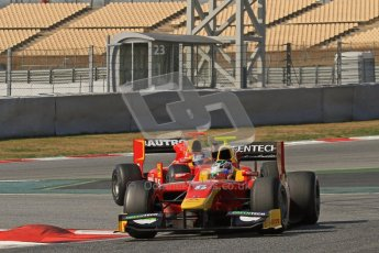 © Octane Photographic Ltd. GP2 Winter testing Barcelona Day 1, Tuesday 6th March 2012. Racing Engineering, Nathanael Berthon. Digital Ref : 0235lw7d7628