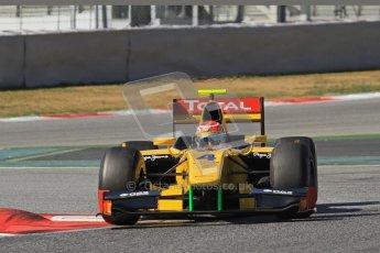 © Octane Photographic Ltd. GP2 Winter testing Barcelona Day 1, Tuesday 6th March 2012. DAMS, Felipe Nasr. Digital Ref : 0235lw7d7697