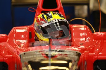 © Octane Photographic Ltd. GP2 Winter testing Barcelona Day 2, Wednesday 7th March 2012. Marussia Carlin, Rio Haryanto. Digital Ref : 0236cb1d4168