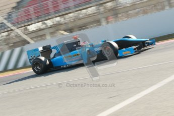© Octane Photographic Ltd. GP2 Winter testing Barcelona Day 2, Wednesday 7th March 2012. Ocean Racing Technology, Jon Lancaster. Digital Ref : 0236cb1d4430