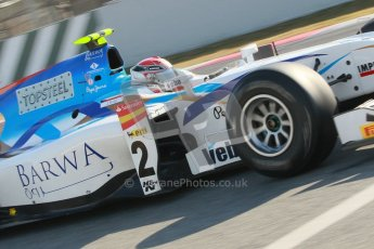 © Octane Photographic Ltd. GP2 Winter testing Barcelona Day 2, Wednesday 7th March 2012. Barwa Addax Team, Josef Kral. Digital ref: 0236cb1d4458