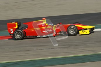 © Octane Photographic Ltd. GP2 Winter testing Barcelona Day 2, Wednesday 7th March 2012. Racing Engineering, Fabio Leimer. Digital Ref : 0236cb1d4659