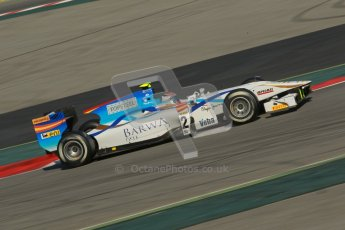 © Octane Photographic Ltd. GP2 Winter testing Barcelona Day 2, Wednesday 7th March 2012. Barwa Addax Team, Josef Kral. Digital ref: 0236cb1d4681