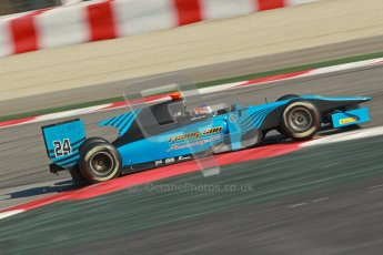 © Octane Photographic Ltd. GP2 Winter testing Barcelona Day 2, Wednesday 7th March 2012. Ocean Racing Technology, Jon Lancaster. Digital Ref : 0236cb1d4691