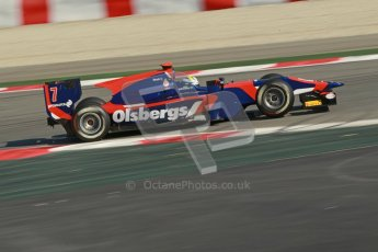 © Octane Photographic Ltd. GP2 Winter testing Barcelona Day 2, Wednesday 7th March 2012. iSport International, Marcus Ericsson. Digital Ref : 0236cb1d4732