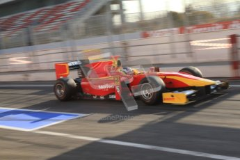 © Octane Photographic Ltd. GP2 Winter testing Barcelona Day 2, Wednesday 7th March 2012. Racing Engineering, Fabio Leimer. Digital Ref : 0236cb7d1679