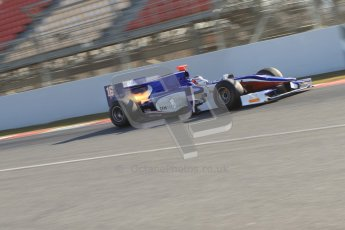 © Octane Photographic Ltd. GP2 Winter testing Barcelona Day 2, Wednesday 7th March 2012. Trident Racing, Stephane Richelmi. Digital Ref :