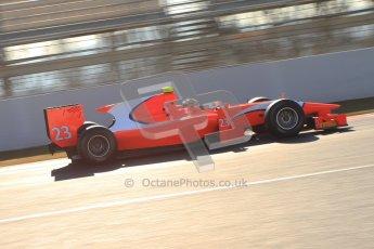 © Octane Photographic Ltd. GP2 Winter testing Barcelona Day 2, Wednesday 7th March 2012. Arden International, Luiz Razia. Digital Ref : 0236cb7d1830