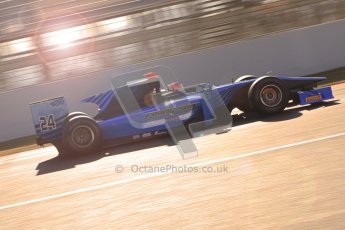 © Octane Photographic Ltd. GP2 Winter testing Barcelona Day 2, Wednesday 7th March 2012. Ocean Racing Technology, Jon Lancaster. Digital Ref : 0236cb7d1835
