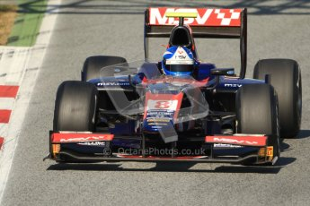 © Octane Photographic Ltd. GP2 Winter testing Barcelona Day 2, Wednesday 7th March 2012. iSport International, Jolyon Palmer. Digital Ref : 0236cb7d1894