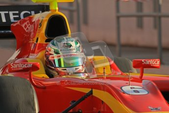 © Octane Photographic Ltd. GP2 Winter testing Barcelona Day 2, Wednesday 7th March 2012. Racing Engineering, Nathanael Berthon. Digital Ref : 0236lw7d7918