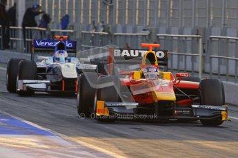 © Octane Photographic Ltd. GP2 Winter testing Barcelona Day 2, Wednesday 7th March 2012. Racing Engineering, Fabio Leimer. Digital Ref : 0236lw7d8014