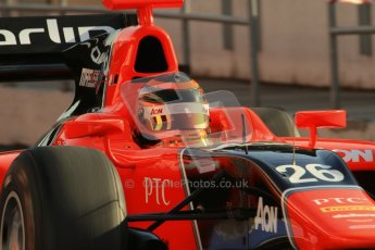 © Octane Photographic Ltd. GP2 Winter testing Barcelona Day 2, Wednesday 7th March 2012. Marussia Carlin, Max Chilton. Digital Ref : 0236lw7d8065