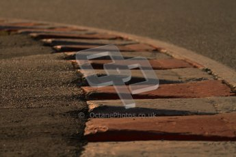 © Octane Photographic Ltd. GP2 Winter testing Barcelona Day 2, Wednesday 7th March 2012. Track rumble strip. Digital Ref : 0236lw7d8117