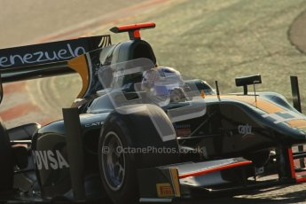 © Octane Photographic Ltd. GP2 Winter testing Barcelona Day 2, Wednesday 7th March 2012. Caterham Racing, Rodolfo Gonzales. Digital Ref : 0236lw7d8573