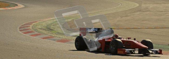 © Octane Photographic Ltd. GP2 Winter testing Barcelona Day 2, Wednesday 7th March 2012. Scuderia Coloni, Fabio Onidi. Digital Ref : 0236lw7d8588