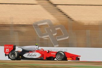 © Octane Photographic Ltd. GP2 Winter testing Barcelona Day 2, Wednesday 7th March 2012. Scuderia Coloni, Fabio Onidi. Digital Ref : 0236lw7d8804