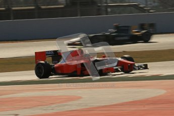 © Octane Photographic Ltd. GP2 Winter testing Barcelona Day 2, Wednesday 7th March 2012. Arden International, Luiz Razia. Digital Ref : 0236lw7d9074
