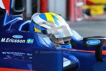 © Octane Photographic Ltd. GP2 Winter testing Barcelona Day 3, Thursday 8th March 2012. iSport International, Marcus Ericsson. Digital Ref : 0237cb1d5015