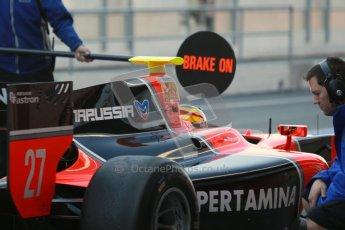© Octane Photographic Ltd. GP2 Winter testing Barcelona Day 3, Thursday 8th March 2012. Marussia Carlin, Rio Haryanto. Digital Ref : 0237cb1d5048