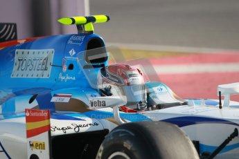 © Octane Photographic Ltd. GP2 Winter testing Barcelona Day 3, Thursday 8th March 2012. Barwa Addax Team, Josef Kral. Digital ref: 0237cb1d5054