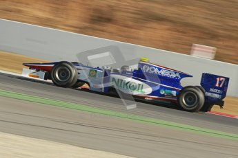 © Octane Photographic Ltd. GP2 Winter testing Barcelona Day 3, Thursday 8th March 2012. Trident Racing, Julian Leal. Digital Ref : 0237cb1d5213