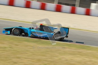 © Octane Photographic Ltd. GP2 Winter testing Barcelona Day 3, Thursday 8th March 2012. Ocean Racing Technology, Jon Lancaster. Digital Ref : 0237cb1d5252