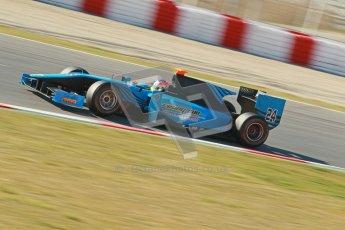 © Octane Photographic Ltd. GP2 Winter testing Barcelona Day 3, Thursday 8th March 2012. Ocean Racing Technology, Jon Lancaster. Digital Ref : 0237cb1d5301