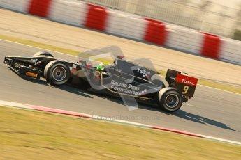 © Octane Photographic Ltd. GP2 Winter testing Barcelona Day 3, Thursday 8th March 2012. Lotus GP, James Calado, Racing Steps. Digital Ref : 0237cb1d5515