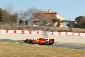 © Octane Photographic Ltd. GP2 Winter testing Barcelona Day 3, Thursday 8th March 2012. Racing Engineering, Nathanael Berthon. Digital Ref : 0237cb1d5540