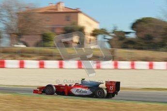 © Octane Photographic Ltd. GP2 Winter testing Barcelona Day 3, Thursday 8th March 2012. Scuderia Coloni, Fabio Onidi. Digital Ref : 0237cb1d5602