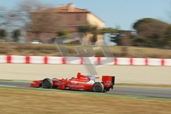 © Octane Photographic Ltd. GP2 Winter testing Barcelona Day 3, Thursday 8th March 2012. Arden International, Simon Trummer. Digital Ref : 0237cb1d5630