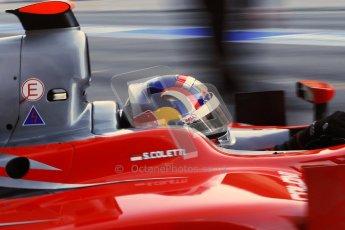 © Octane Photographic Ltd. GP2 Winter testing Barcelona Day 3, Thursday 8th March 2012. Scuderia Coloni, Stefano Coletti. Digital Ref : 0237cb7d2348