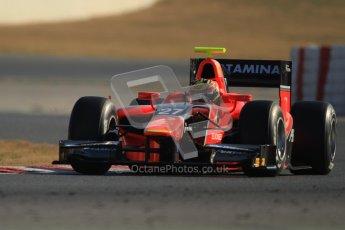 © Octane Photographic Ltd. GP2 Winter testing Barcelona Day 3, Thursday 8th March 2012. Marussia Carlin, Rio Haryanto. Digital Ref : 0237cb7d2398