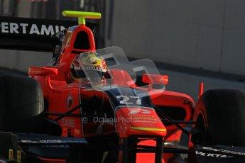 © Octane Photographic Ltd. GP2 Winter testing Barcelona Day 3, Thursday 8th March 2012. Marussia Carlin, Rio Haryanto. Digital Ref : 0237lw7d9323