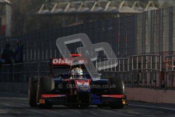 © Octane Photographic Ltd. GP2 Winter testing Barcelona Day 3, Thursday 8th March 2012. iSport International, Marcus Ericsson. Digital Ref : 0237lw7d9369