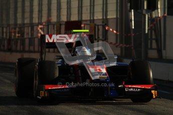 © Octane Photographic Ltd. GP2 Winter testing Barcelona Day 3, Thursday 8th March 2012. iSport International, Jolyon Palmer. Digital Ref : 0237lw7d9386
