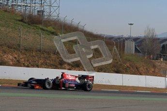 © Octane Photographic Ltd. GP2 Winter testing Barcelona Day 3, Thursday 8th March 2012. Venezuela GP Lazarus, Fabrizio Crestani. Digital Ref :  0237lw7d9535