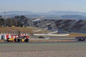 © Octane Photographic Ltd. GP2 Winter testing Barcelona Day 3, Thursday 8th March 2012. DAMS, Davide Valsecchi. Digital Ref : 0237lw7d9542