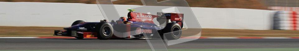 © Octane Photographic Ltd. GP2 Winter testing BarcelonaDay 3, Thursday 8th March 2012. Venezuela GP Lazarus, Giancarlo Senerelli. Digital Ref : 0237lw7d9597