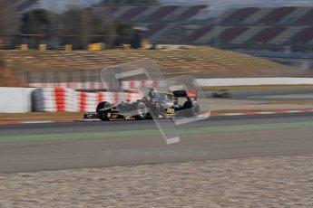 © Octane Photographic Ltd. GP2 Winter testing Barcelona Day 3, Thursday 8th March 2012. Lotus GP, Esteban Gutierrez. Digital Ref : 0237lw7d9610