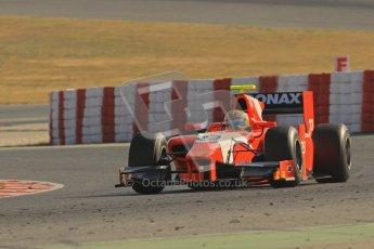 © Octane Photographic Ltd. GP2 Winter testing Barcelona Day 3, Thursday 8th March 2012. Arden International, Luiz Razia. Digital Ref : 0237lw7d9674